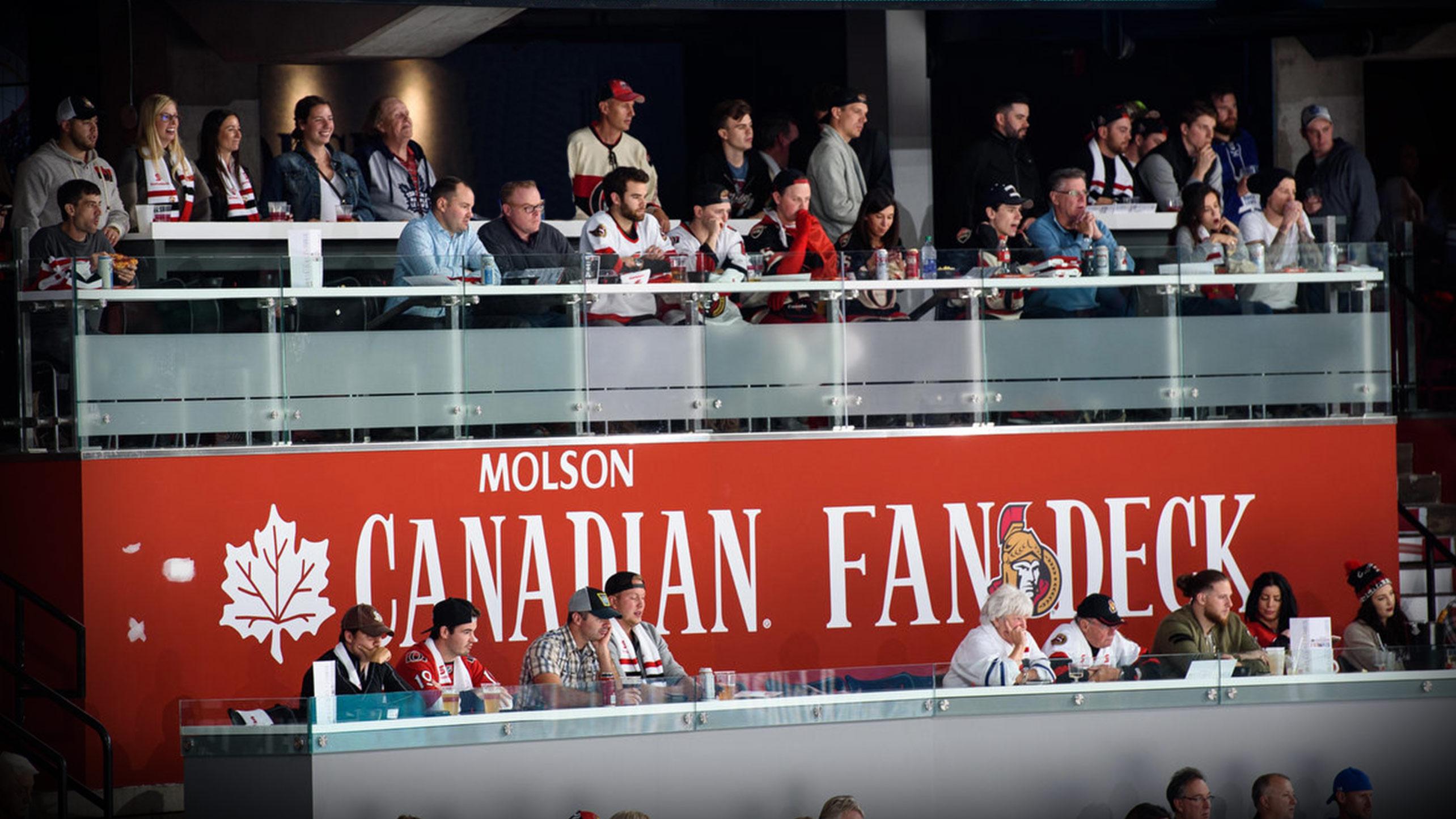 Lexus Credit Card >> Ottawa Senators - Season Seats